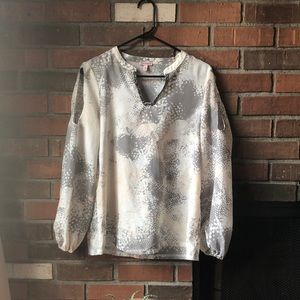 [Juicy Couture] sheer blouse